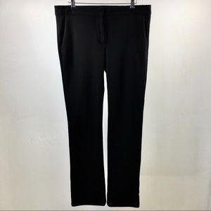 Max Mara Black Straight Cotton blend Trousers. 12